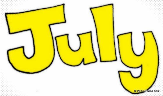July Gratitude Calendar